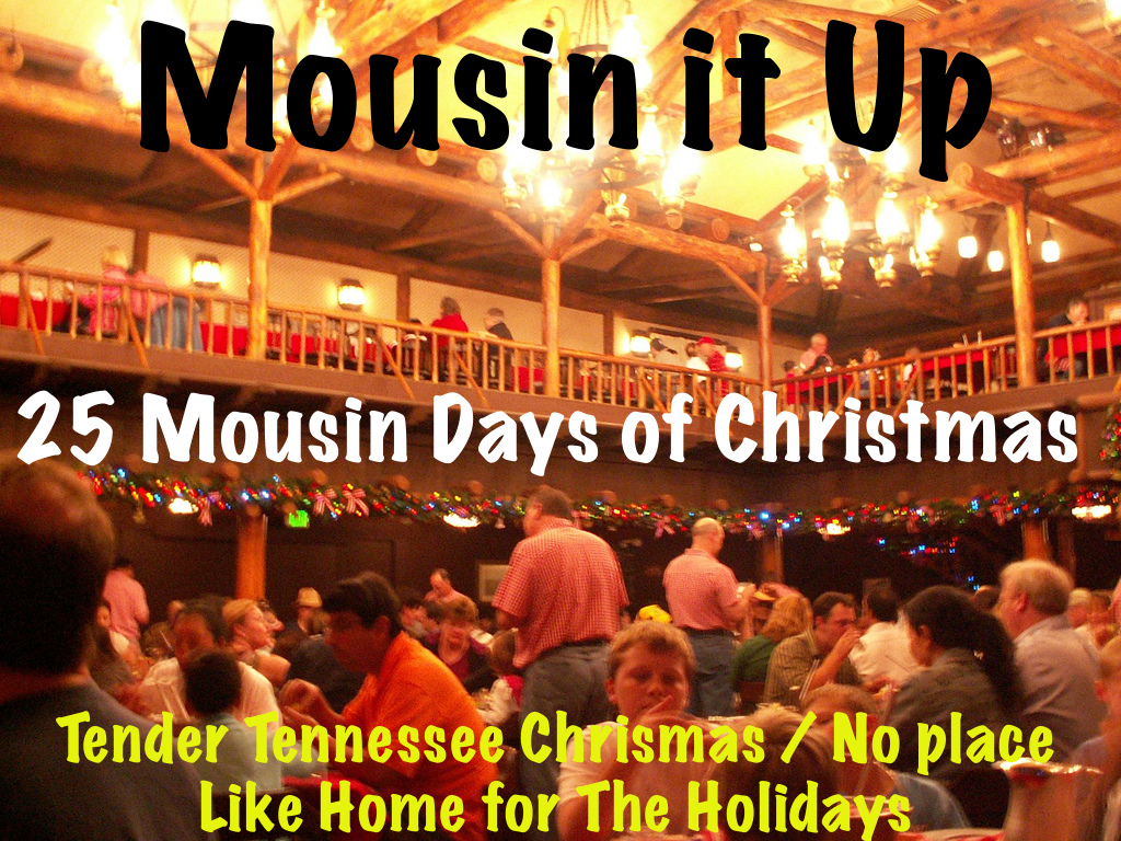 25 Mousin Days of Christmas - Day 8 Tender Tennessee Christmas/ No place Like Home For the Holidays