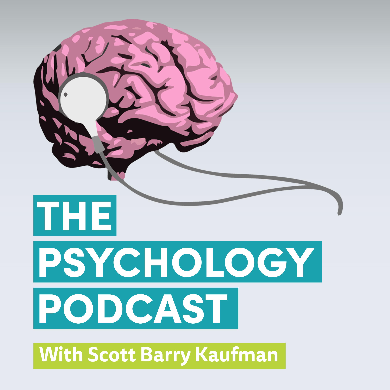 The Psychology Podcast with Scott Barry Kaufman show art