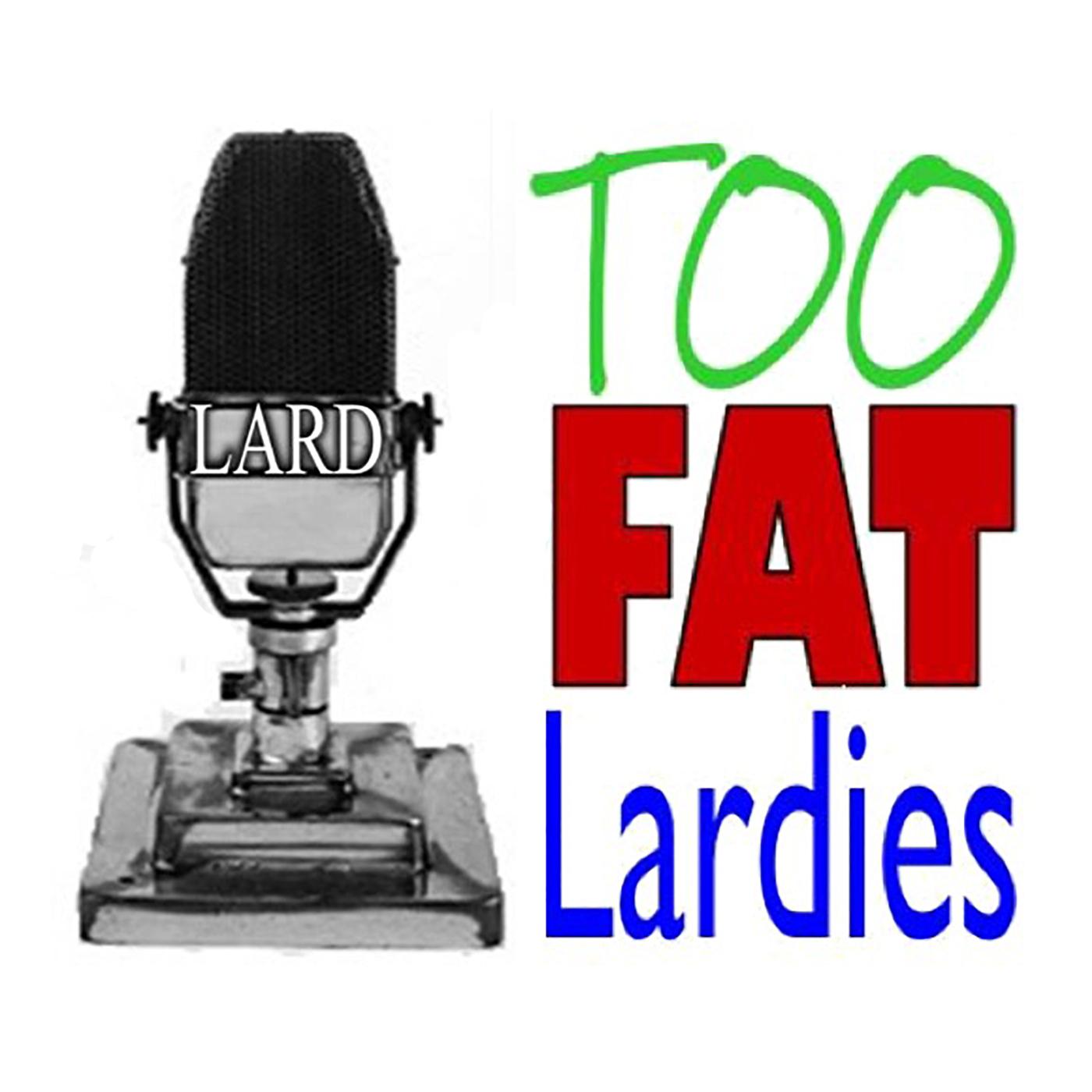 The TooFatLardies Oddcast show art