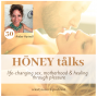 Artwork for Ecstatic Birth Story and Conscious Parenting Secrets with Amber Hartnell