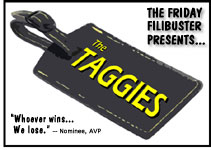 DVD Verdict 153 - The Friday Filibuster presents... The 2008 Taggies Awards