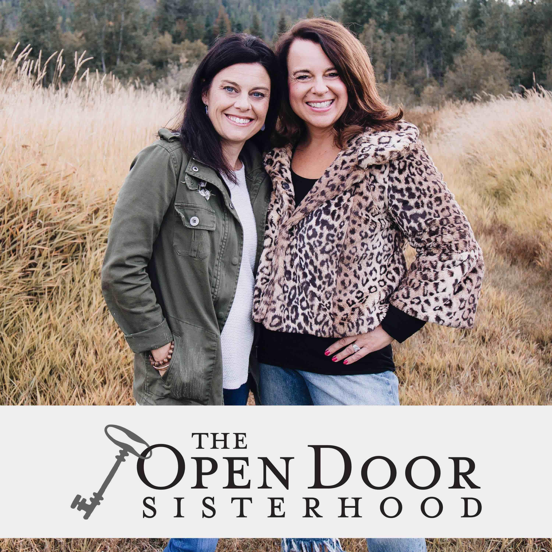 The Open Door Sisterhood Podcast show art