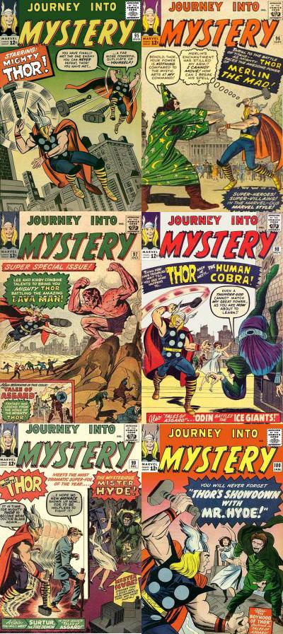 KomicsKast - #93 - THOR -  Journey Into Mystery 95 - 100