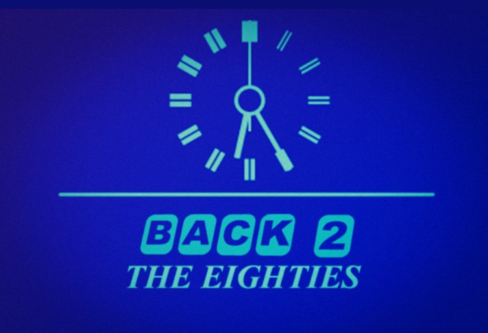 Back to the Eighties show art