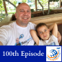 Artwork for 100th Episode Special | Solo travel with my son Timothy