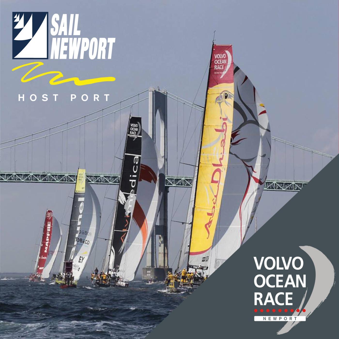 Volvo Ocean Race Newport Podcast show art