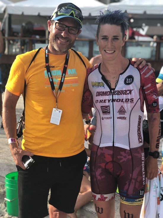 Rachel McBride post race