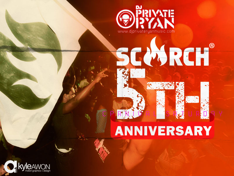 SCORCH Magazine 5 Year Anniversary Promo