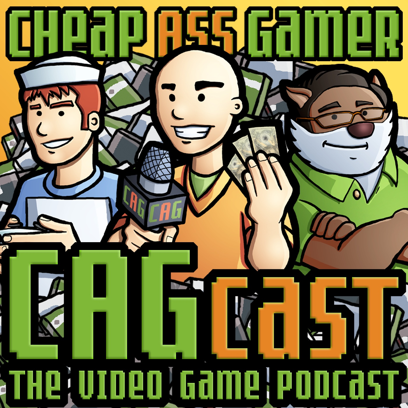 CAGcast #695: Why Are My Feet Wet? show art