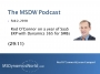 Artwork for  MSDW Podcast: Rod O'Connor back at a year of SaaS ERP with Microsoft Dynamics 365 for SMBs