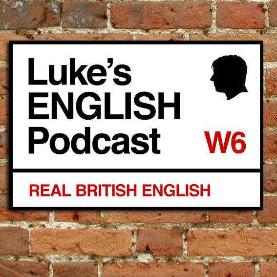 Luke's ENGLISH Podcast - Learn British English with Luke Thompson show art