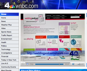 Wedding Podcast Network featured on WNBC-TV