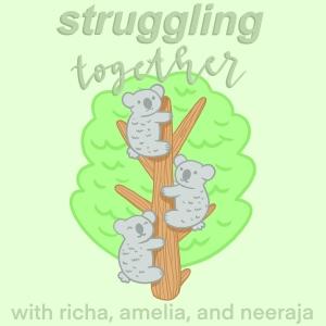 struggling together