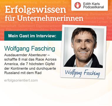 Im Gespräch mit Wolfgang Fasching - Teil 2