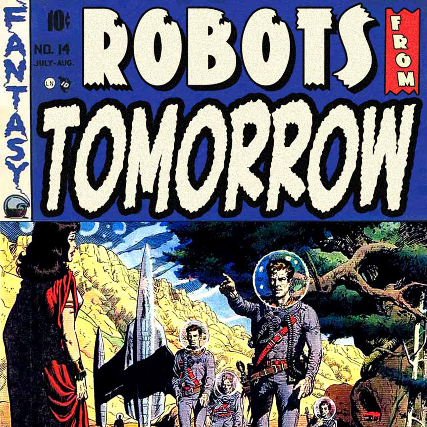 Robots From Tomorrow! show art