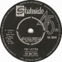 Artwork for The Letter - The Box Tops - Time Warp Song of the Day