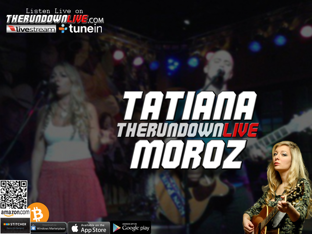 The Rundown Live #281 Tatiana Moroz (Chemtrails,CryptoCurrency,Anti-War)