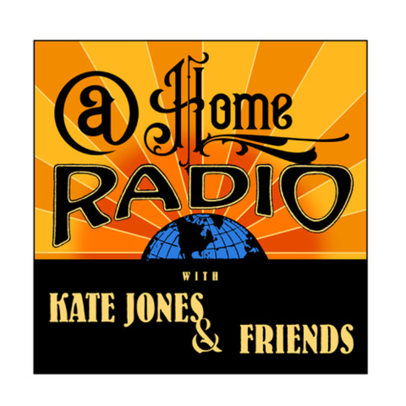 At Home Radio with Kate Jones and Friends show art