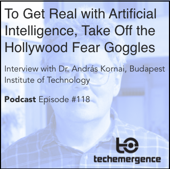 To Get Real with Artificial Intelligence, Take Off the Hollywood Fear Goggles