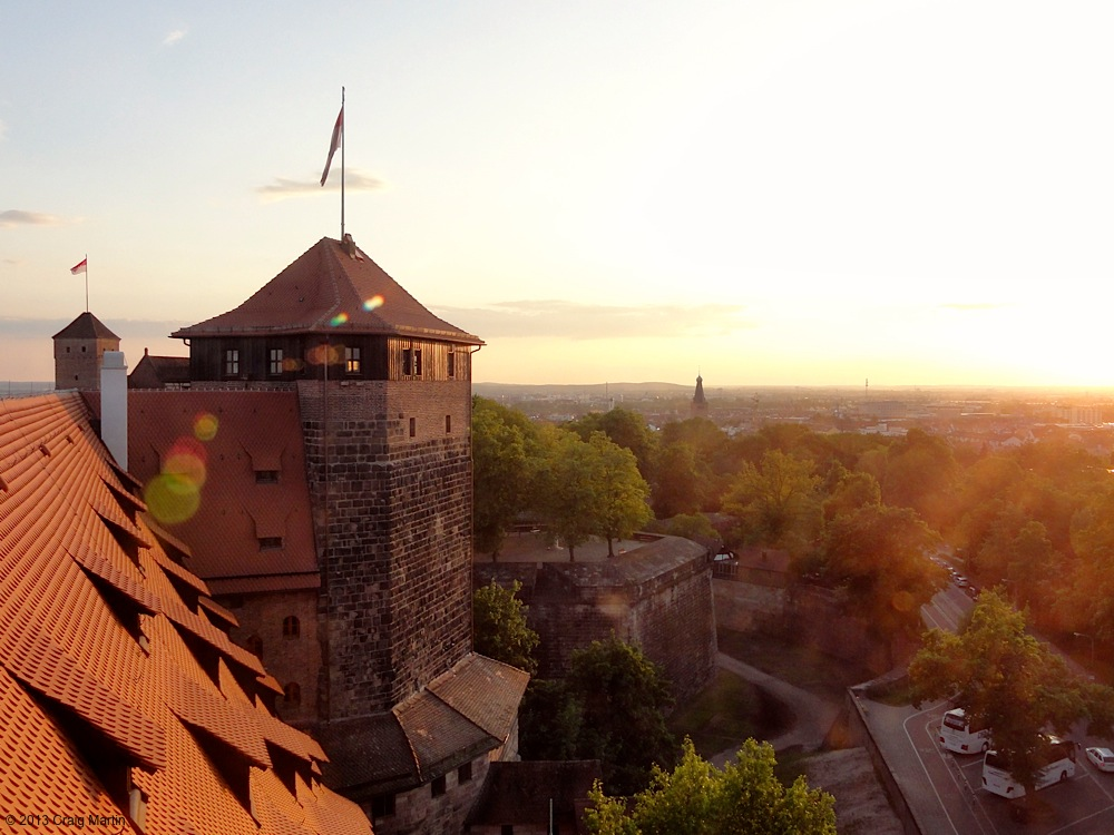Nuremberg. It's quite lovely.