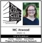 "Artwork for The Liars Club Oddcast # 156   Megan ""MC"" Atwood, YA Author"