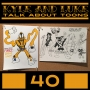 Artwork for Kyle and Luke Talk About Toons #40: Actually Making Cartoons vs Talkin' Toons