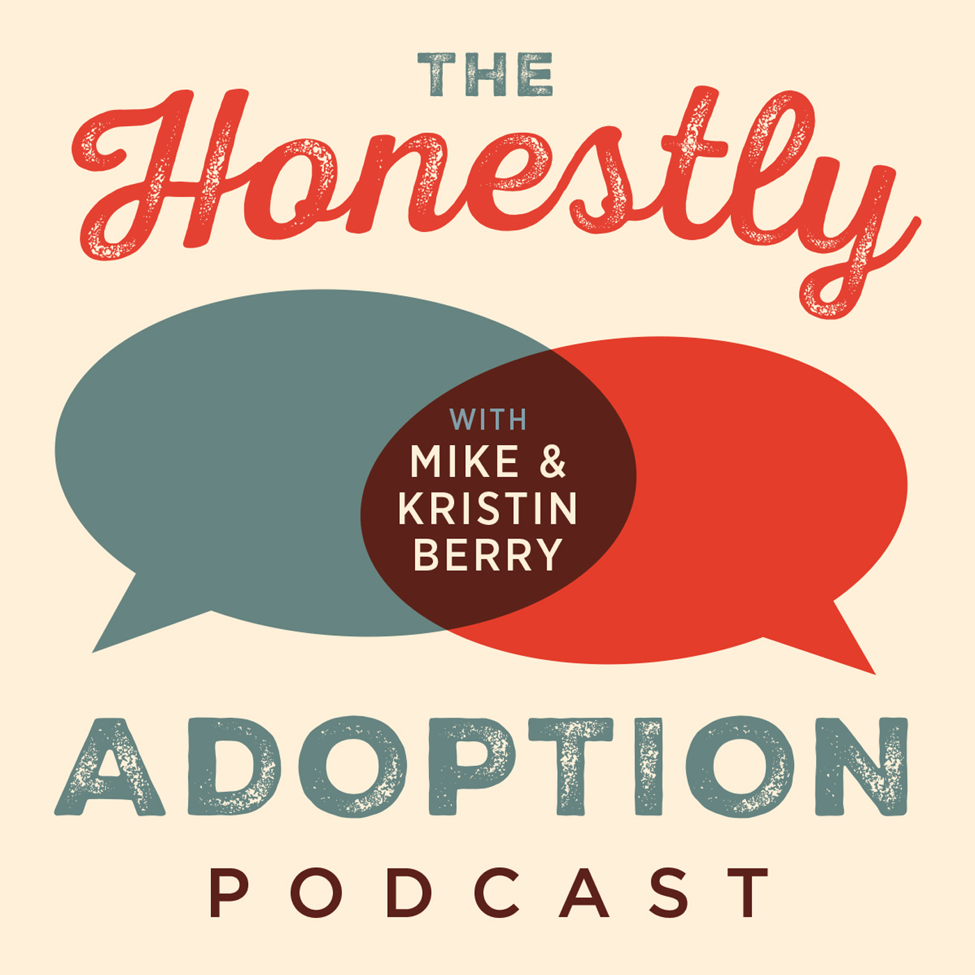 The Honestly Adoption Podcast show art