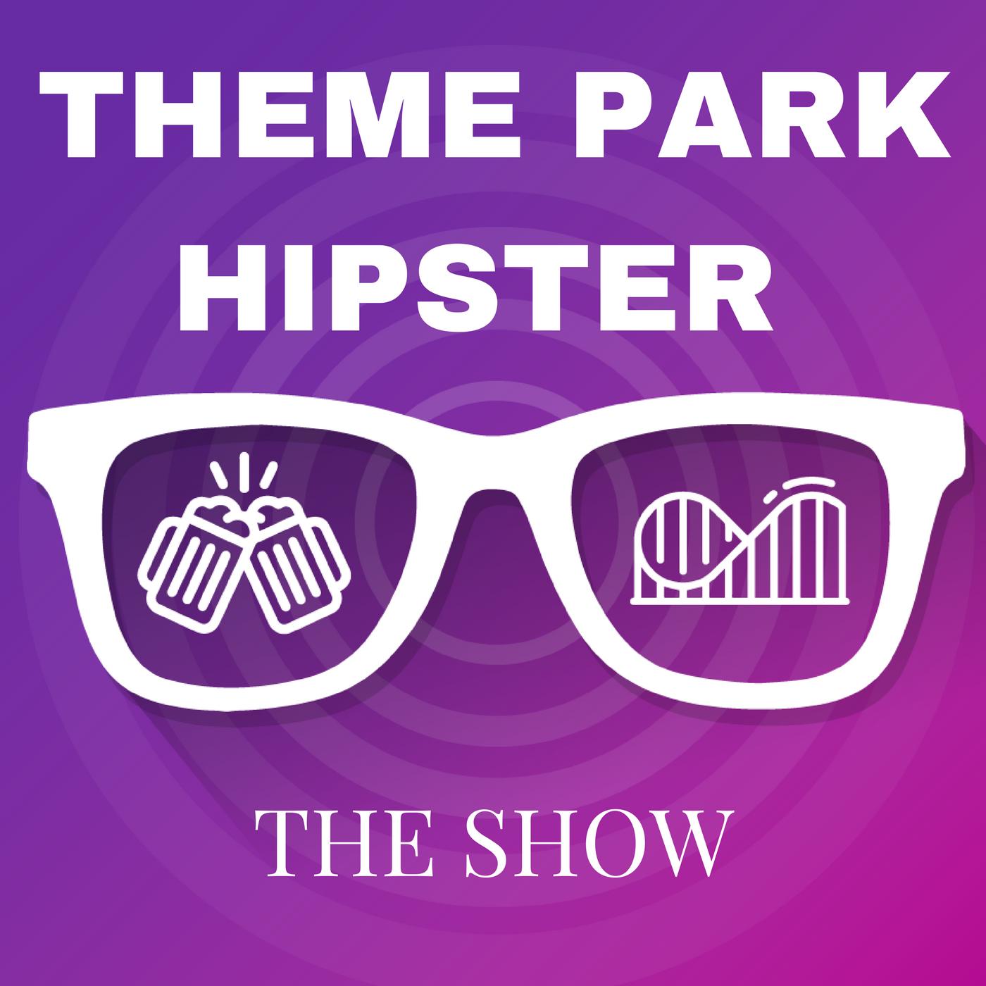 Theme Park Hipster Show show art