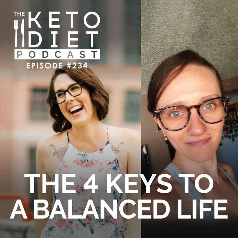 #234 The 4 Keys to a Balanced Life with @authenticwellbeing