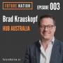 Artwork for Driving team innovation through coworking, with Brad Krauskopf - Episode 003