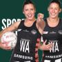 Artwork for Two Super Stars of Australian Netball Sister Act - Madi, Kelsey Browne