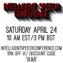 Artwork for Announcement: Intelligent Speech Conference on the 24th of April