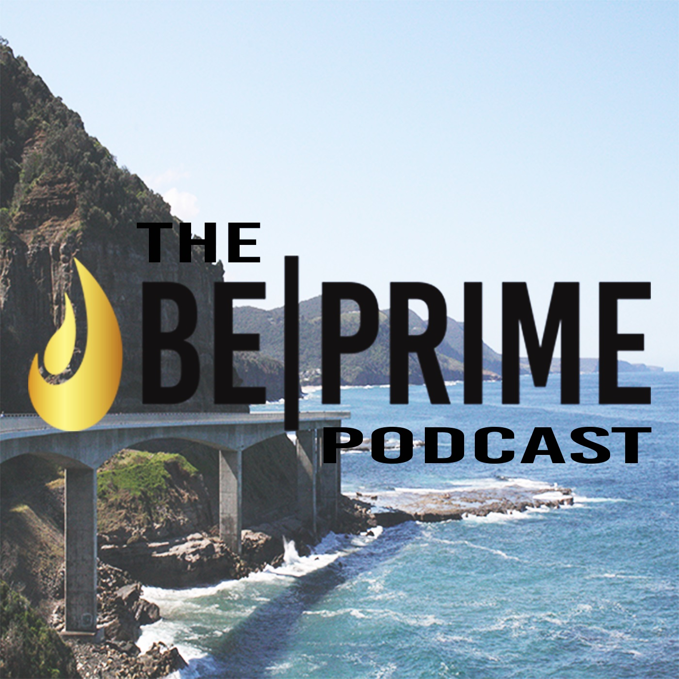 THE BE PRIME PODCAST show art