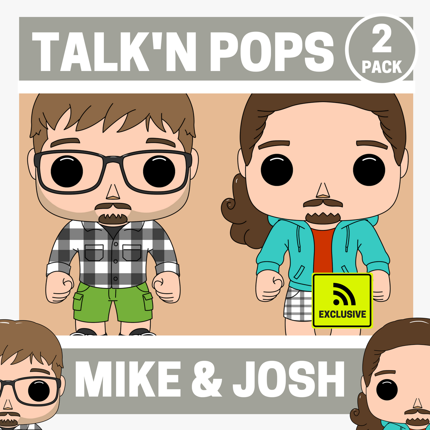 Talk'n Pops logo