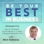 Artwork for EP014 - How to Combine Social Media to Create a Powerful Business Tool with Mick Holloway