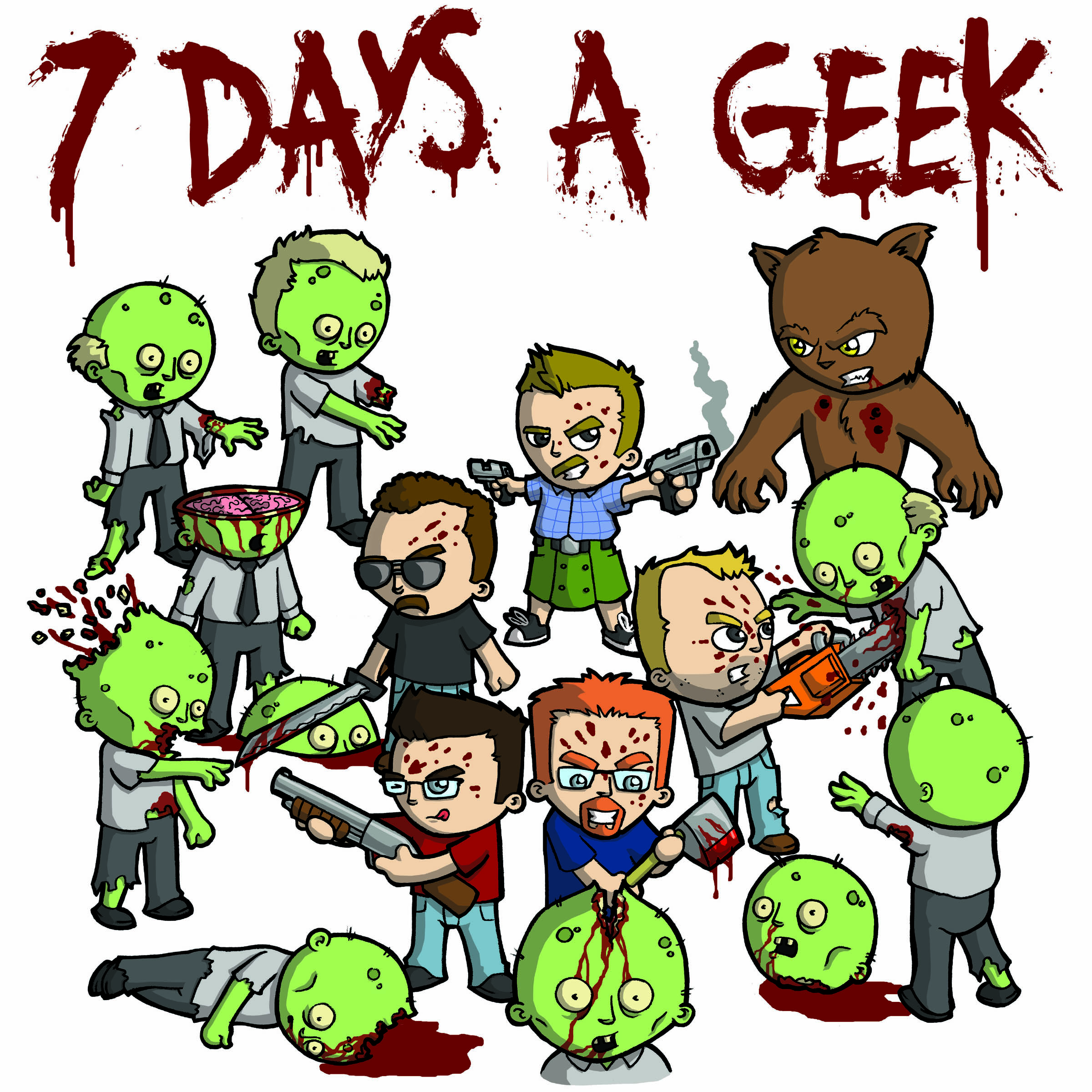 Episode 31: 7 Days A Geek Presents: The Grindhouse Funhouse