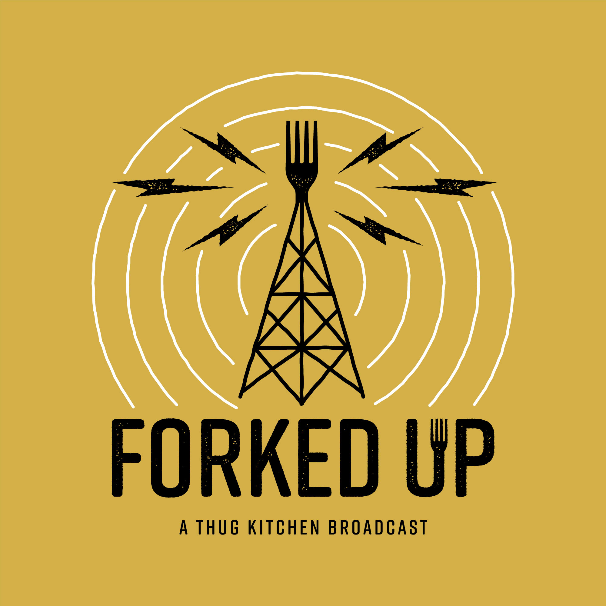 Forked Up show art