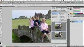 Fix a Family Photo using Photoshop CS5