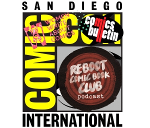 San Diego Comic-Con 2016 with Emi Lenox, Gene Luen Yang, and Zander Cannon