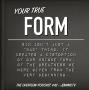 Artwork for Your true form- #42