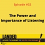 Artwork for The Power and Importance of Listening