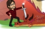 """Artwork for S4E4 - Dragon Quest with Austin King - """"Like a Crazy Person"""""""