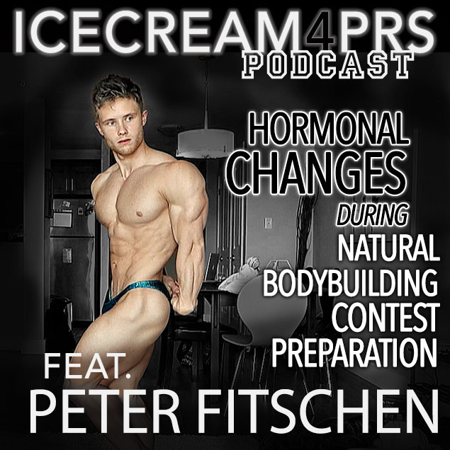 Episode 12 - Changes in Hormones with Natural Bodybuilding Contest Prep feat. Peter Fitschen