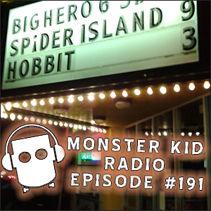Monster Kid Radio #191 - Monster Kid Radio Crashes Horrors of Spider Island