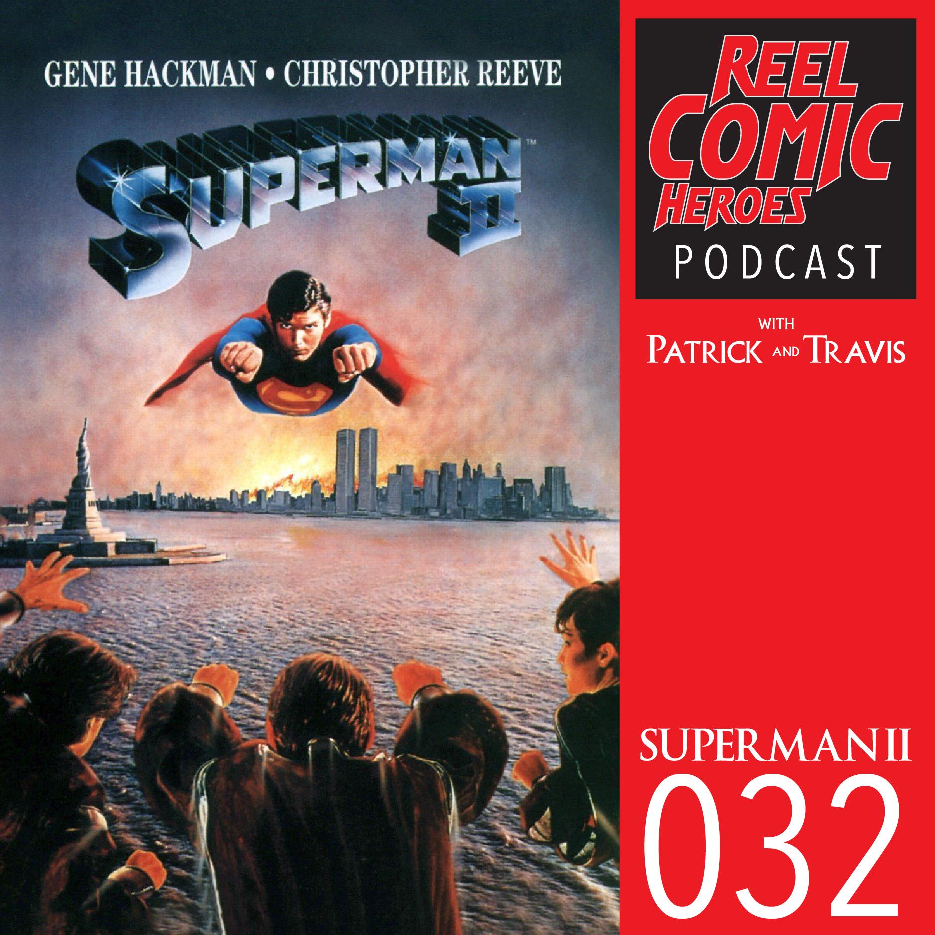 Artwork for Reel Comic Heroes 032 - Superman II