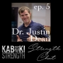 Artwork for Strength Chat #5: Dr. Justin Dean