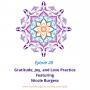 Artwork for 28: Gratitude, Joy, and Love Practice