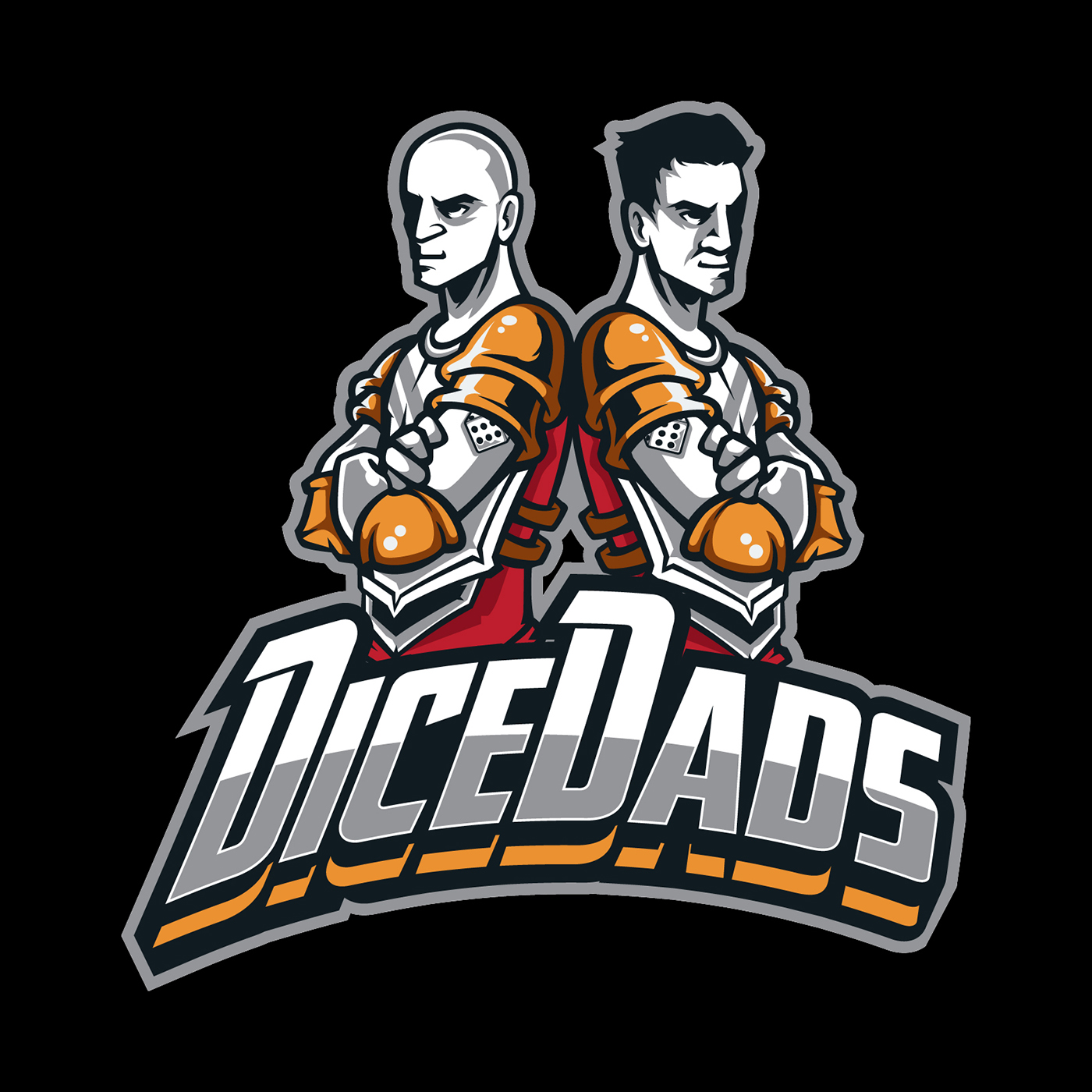 DiceDads: A Board Game Podcast show art