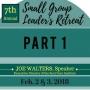 Artwork for Joe Walters on Small Group Leadership, Part 1