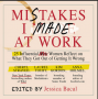 Artwork for Mistakes at Work? Jess Bacal shares how these can become learning experiences in building a successful career.